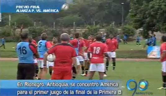 América se concentró en Rionegro, para el primer partido de la final