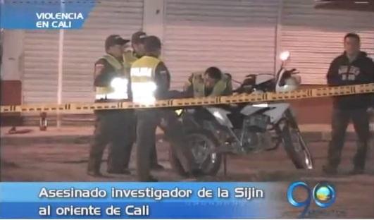 Asesinado agente de la Sijin al oriente de Cali