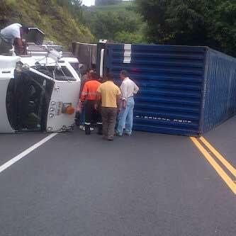 Accidente en la vía Cali – Popayán deja una víctima mortal