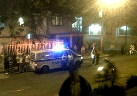 Lanzan una granada contra sede de un CAI en Popayán