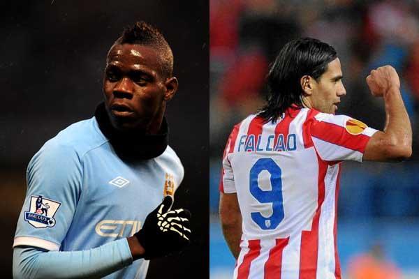 Balotelli saldría del Manchester City y llegaría el 'Tigre' Falcao