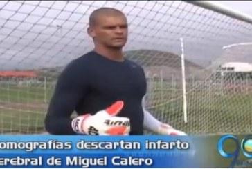 Miguel Calero continúa sedado pero fuera de peligro