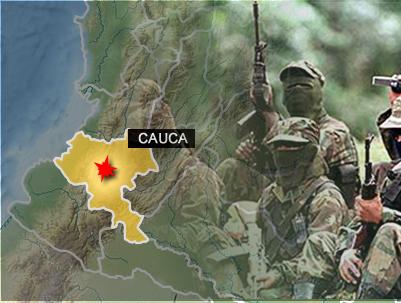 Heridos tres niños en incursión guerrillera en el Cauca