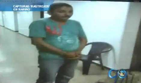 Capturado cabecilla de 'Los Rastrojos' en Nariño