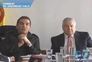 Autoridades del Valle convocan consejo de seguridad
