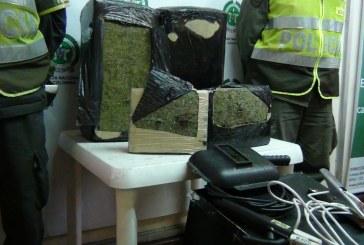 Descubren cargamento de marihuana en medio de herramientas