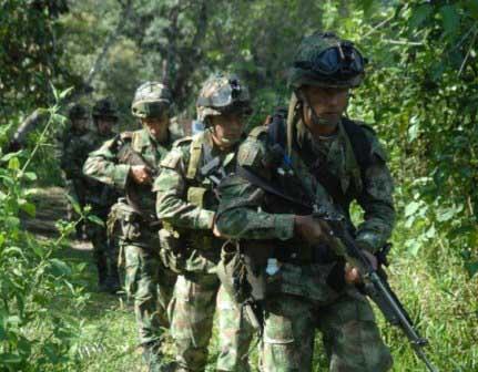 2 soldados muertos por minas explosivas instaladas en Nariño por el frente 29 de la Farc
