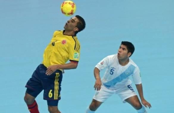 Colombia cayó ante el Guatemala en el inicio del Mundial de Futsal