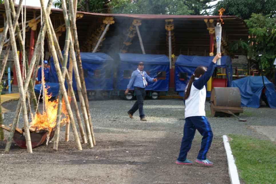 Se encendió la llama de los 'XVII Juegos Nacionales Colegios Alemanes 2012'