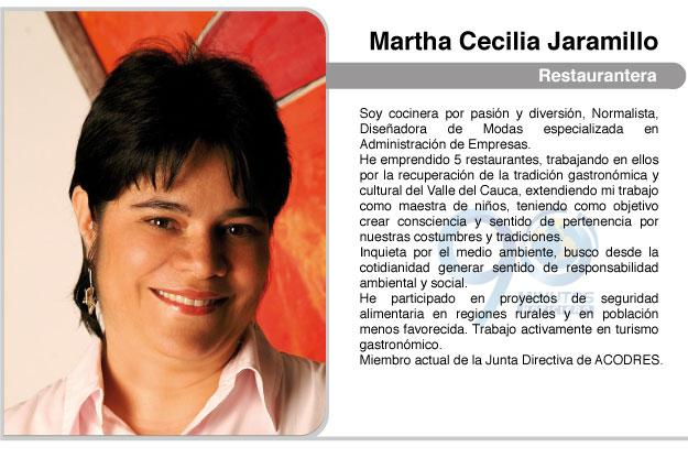 Cocina por Convicción, por Martha Cecilia Jaramillo
