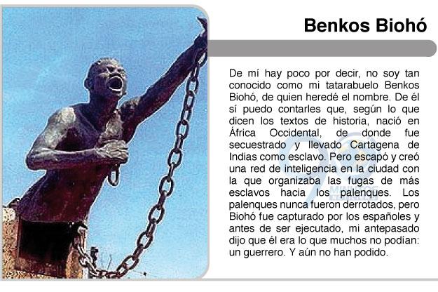 Desde el Palenque, por Benkos Biohó