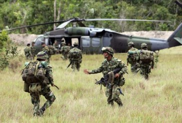 Ministerio de Defensa amplia pie de fuerza en Chocó