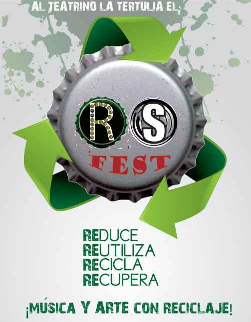 RS FEST, un concierto con sonidos reciclados en Cali