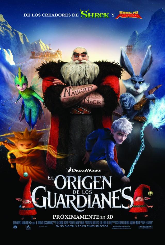 Se estrena 'El origen de los guardianes' de DreamWorks