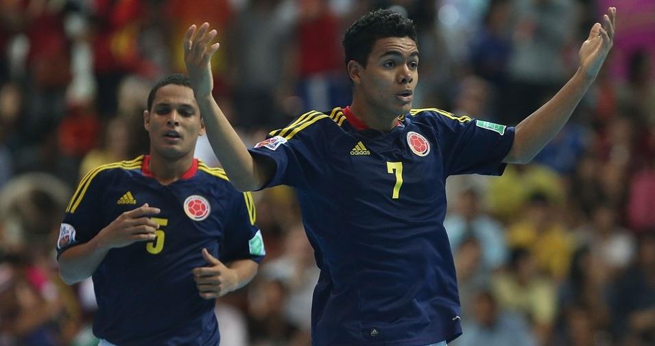 Selección Colombia de futsal cayó ante Brasil y disputará el tercer lugar