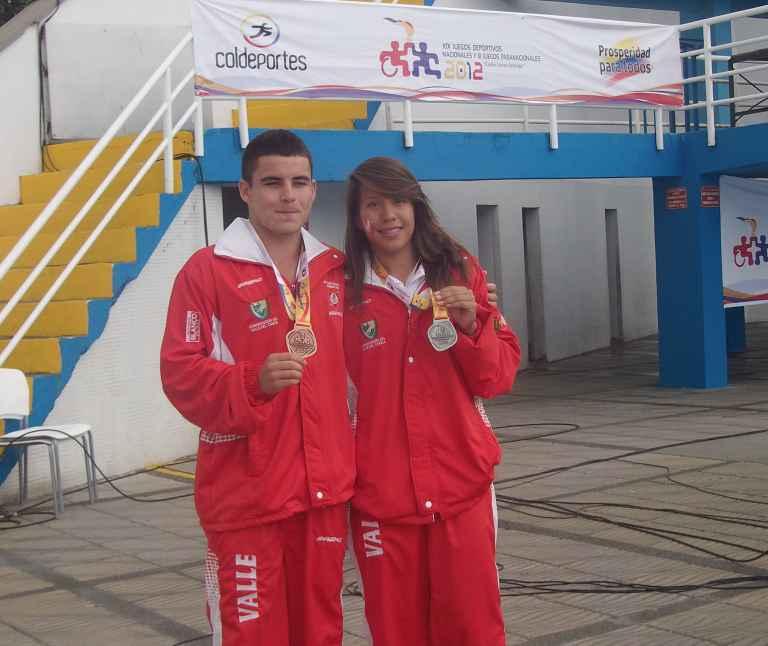 Clavadistas suman dos medallas más para delegación del Valle