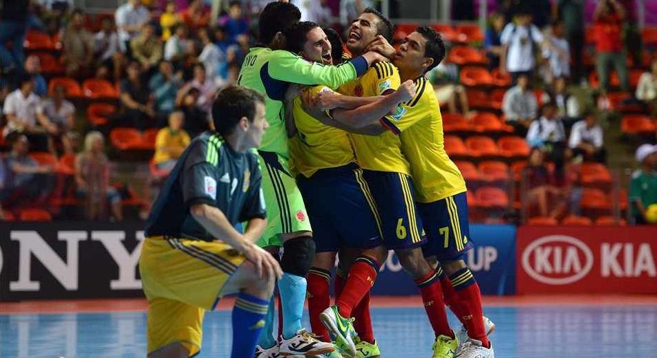 Colombia está entre las cuatro mejores selecciones de futsal del mundo