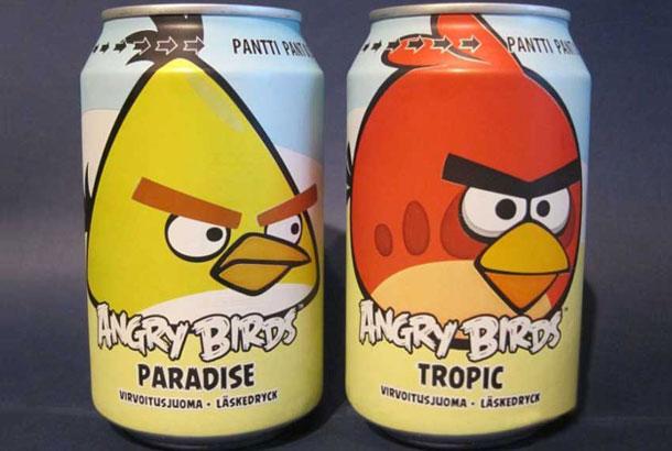 La gaseosa Angry Birds superó en ventas a Coca Cola y Pepsi