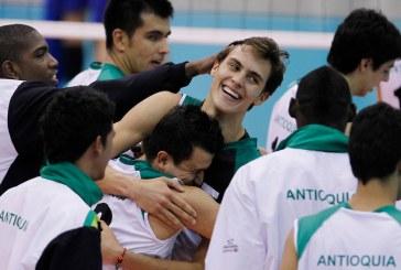 En reñido partido con Antioquia, Valle perdió la final del voleibol