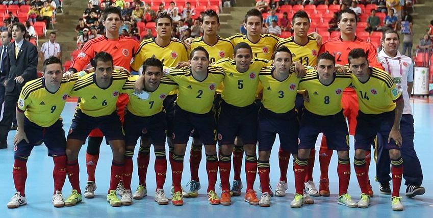 Colombia, la cuarta mejor selección de futsal en el mundo