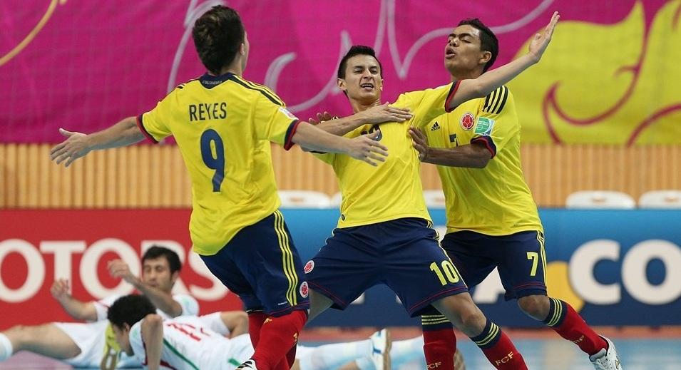 Colombia a cuartos de final del Mundial de Futsal en Tailandia
