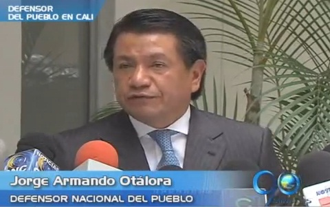 Defensor Nacional del Pueblo califica como grave la situación en Buenaventura
