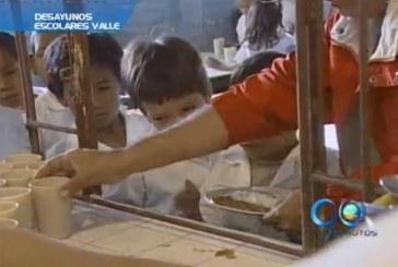 Gobierno Nacional asumirá los desayunos escolares en el Valle