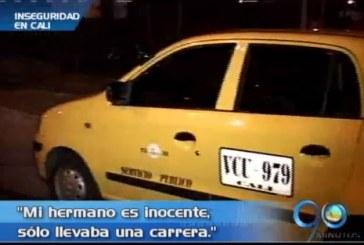 Familiares de taxista detenido por cadáver desmembrado reclaman justicia