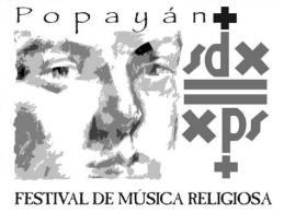 Exposición de afiches del Festival de Música Religiosa de Popayán