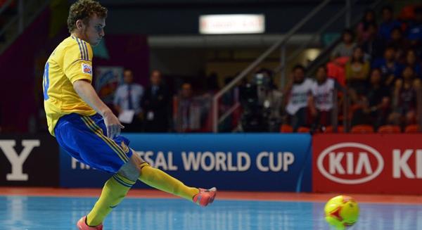 Rodó el balón en la Copa Mundial de Fútsal de Tailandia 2012