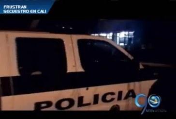 Policía liberó tres personas recién secuestradas