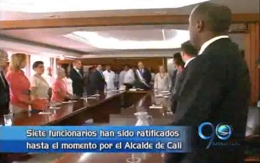 Alcalde de Cali ratifica a siete funcionarios de su gabinete