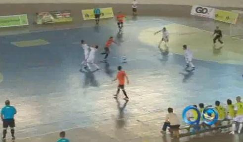 Valle masculino perdió 1-0 con Caldas en fútbol de salón