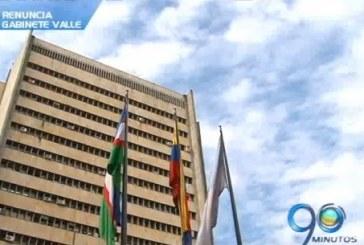 Gobernador del Valle le pidió la renuncia protocolaria a su gabinete