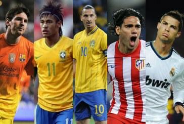 Falcao García está en el Top 5 de los máximos goleadores de 2012