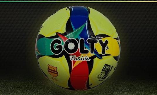 """El """"Fusión"""", el nuevo balón que rodará en el fútbol colombiano"""
