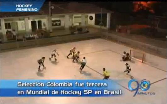 Colombia logró histórica medalla de bronce en mundial de hockey femenino