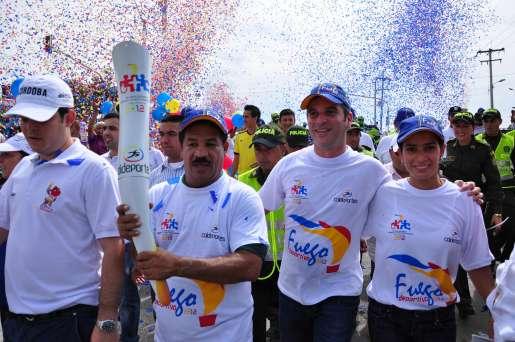 Juegos Nacionales: homenaje a Carlos Lleras Restrepo