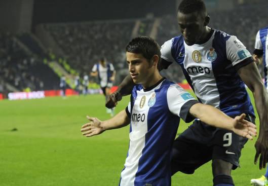 Con goles de Jackson y James, Porto venció al Braga