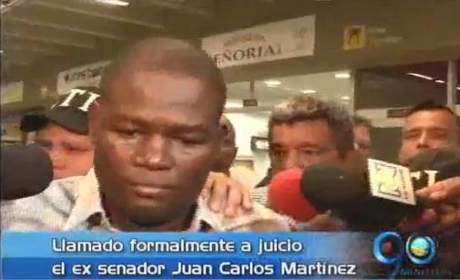 Llamado formal a juicio al ex senador Juan Carlos Martínez