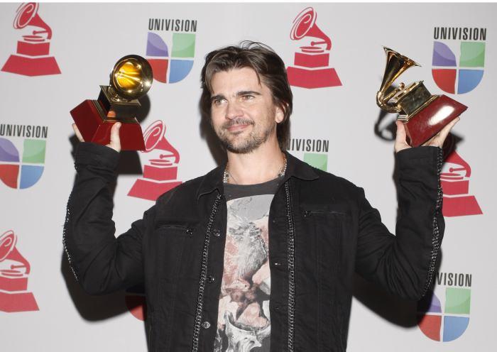 Tres colombianos recibieron gramófonos en los Grammy Latino