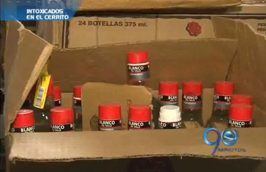 Licor adulterado cobra dos vidas en El Cerrito, Valle