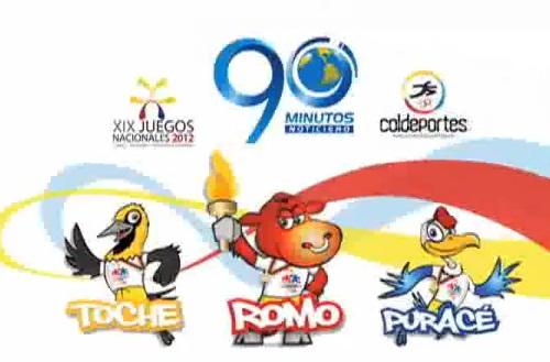 Tabla de Medallería de los XIX Juegos Nacionales