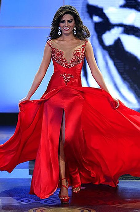 Señorita Colombia 2012, velada de elección y coronación