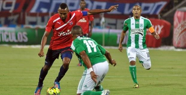 Junior y Medellín, líderes de los cuadrangulares semifinales