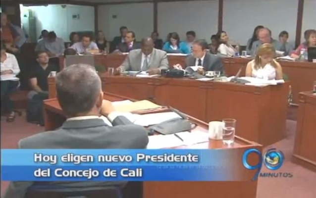 Eligen al nuevo Presidente del Concejo de Cali