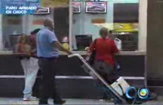 El paro armado en Chocó ya se siente en la terminal de buses de Cali