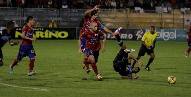 El Deportivo Pasto sacó ventaja como local frente al Atlético Junior