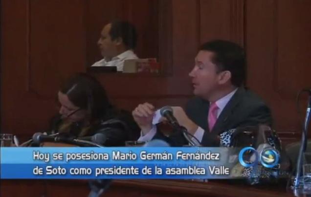 El diputado Mario Germán Fernández, nuevo presidente de la Asamblea