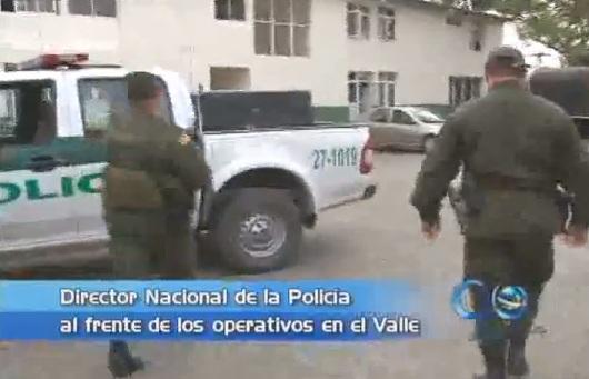 Director Nacional de la Policía despachará desde el Valle